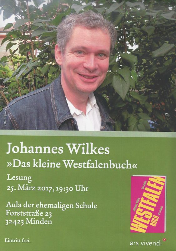 Lesung Johannes Wilkes
